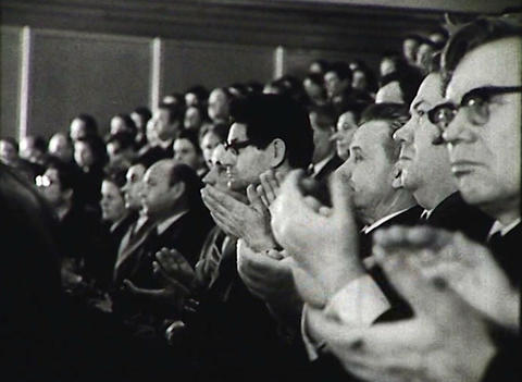 The party Congress. Newsreel of the USSR Live Action