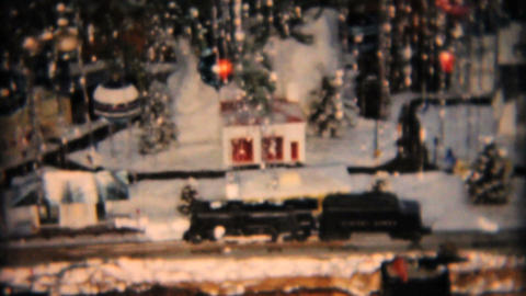 Christmas Tree And Random Bits 1958 Vintage 8mm film Footage