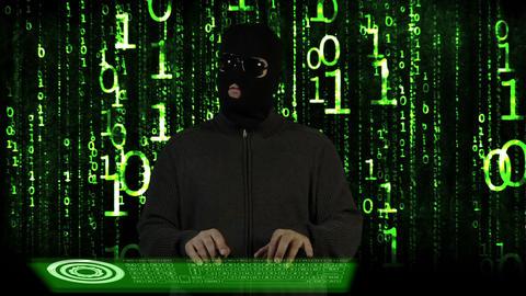 Hacker Breaking System Fail 15 Stock Video Footage