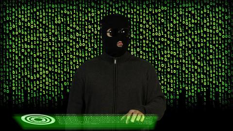 Hacker Breaking System Success 14 Footage