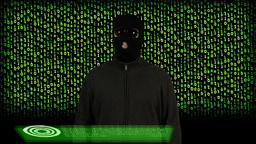 Hacker Breaking System Success 14 Stock Video Footage