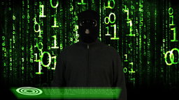 Hacker Breaking System Success 18 Stock Video Footage