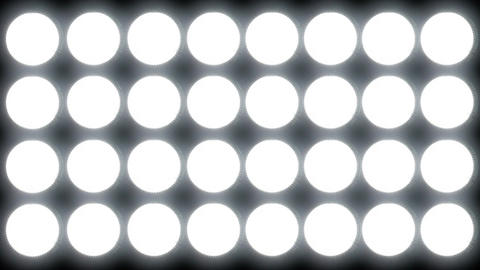 Led Lights 2 stock footage