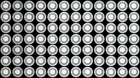 Led Lights Flashing 2 stock footage