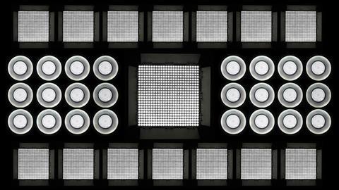 Led Lights Flashing 6 Stock Video Footage