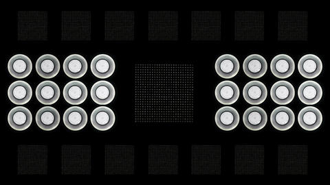 Led   Lights   Flashing  6 stock footage