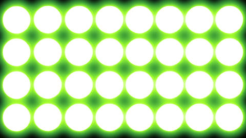 Led   Lights   Green  2 stock footage