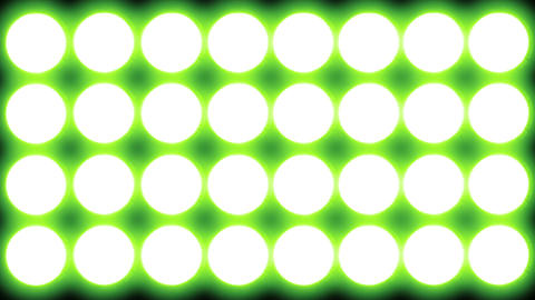 Led Lights Green 2 Stock Video Footage