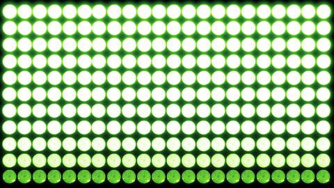 Led Lights Green 4 Stock Video Footage