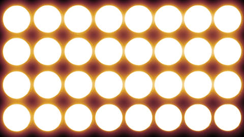 Led Lights Red 1 stock footage