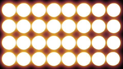Led Lights Red 3 stock footage