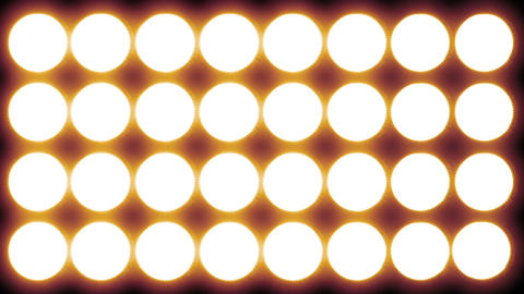 Led Lights Red 3 Stock Video Footage