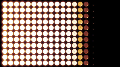Led Lights Red 6 Stock Video Footage