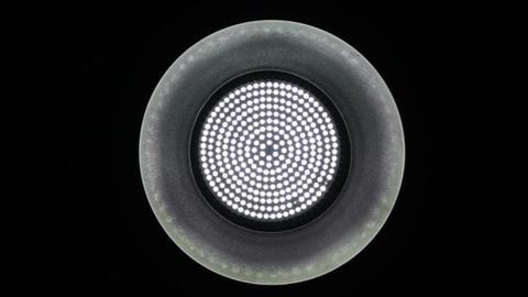 Medium Light Reflector Dim Turn Up Down 1 Stock Video Footage