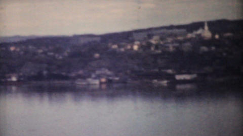 Women Tourists Enjoying The Saint Lawrence Seaway 1958... Stock Video Footage