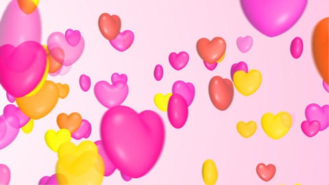 Colorful heart Stock Video Footage