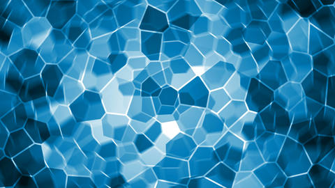 Blue crystal Stock Video Footage