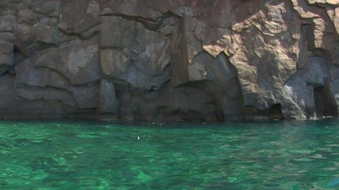 eolian island pattern 03 Stock Video Footage