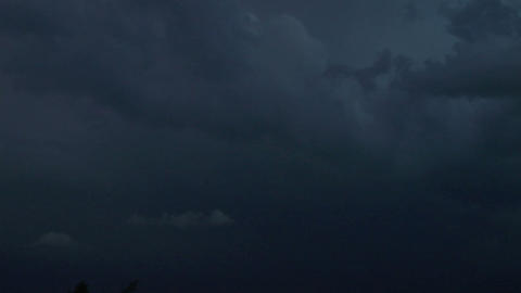 lightning night 02 Stock Video Footage