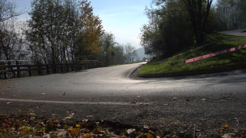 rally 02 Stock Video Footage