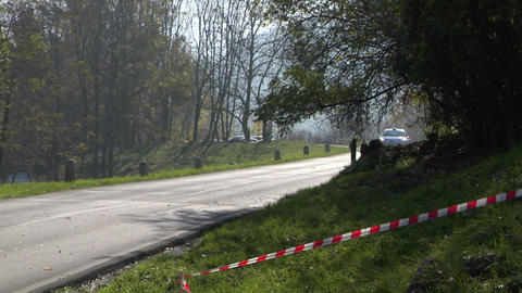 rally 08 Stock Video Footage