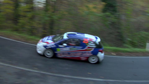 rally 15 Stock Video Footage