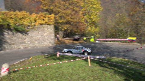 rally vintage 02 Stock Video Footage
