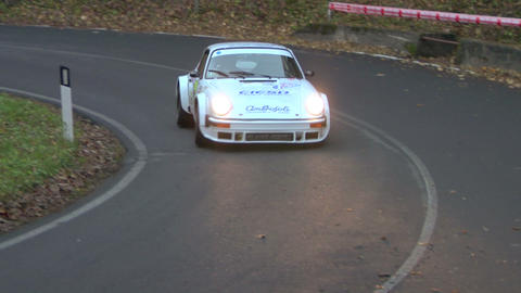 rally vintage 13 Stock Video Footage