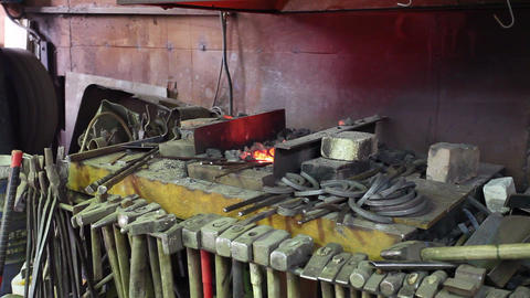 forge Stock Video Footage