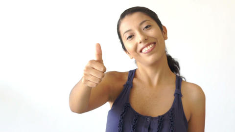 Thumbs up Stock Video Footage