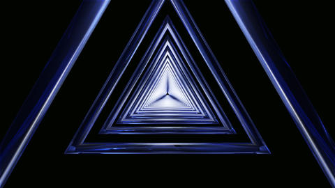 triangle frame tunnel Animation
