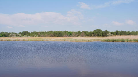 lake in the middle of the steppe in Ukraine with a high content of iodine and minerals Acción en vivo