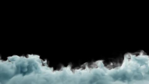 Blue Dream Fog Loop, Stock Animation