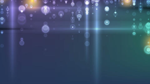 Glowing lights abstract shiny bokeh video animation Animation