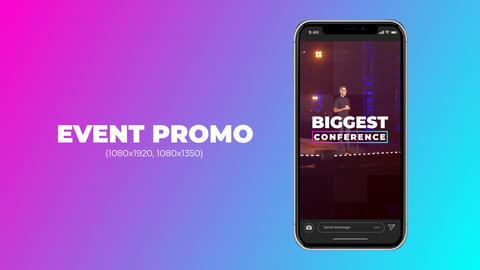 Event Promo (Vertical) Premiere Proテンプレート