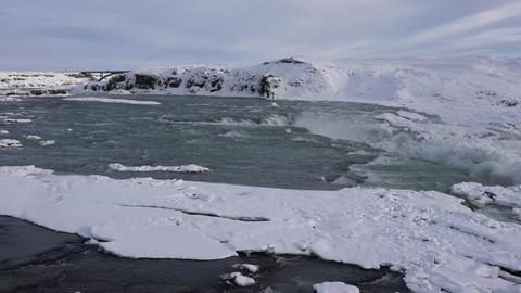 Urridafoss, Iceland, Europe Footage