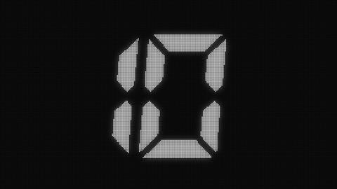 LED 10sec count LED(white) Animation