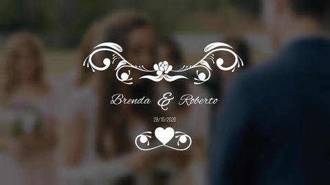 WeddingTitle Premiere Pro Template