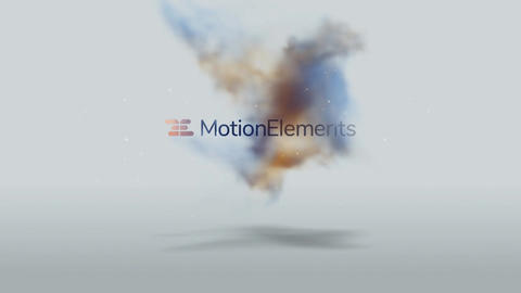 Smoky Balls Logo After Effects Template