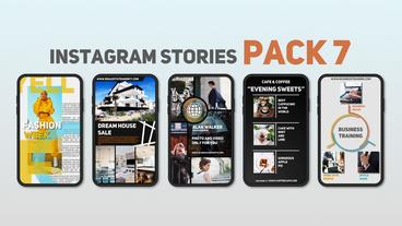 Instagram Stories Pack 7 After Effects Template