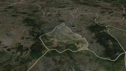 Distrito-Federal - federal district of Mexico. Satellite Animation