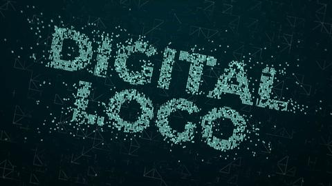 Digital IT Logo Reveal After Effects Template