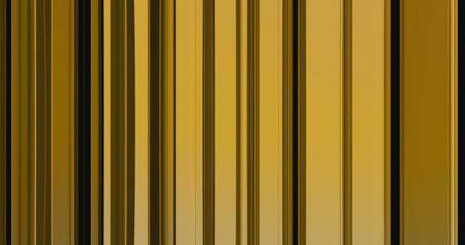 abstract motion gold waves vertical material flowing movement, golden metallic background Live Action