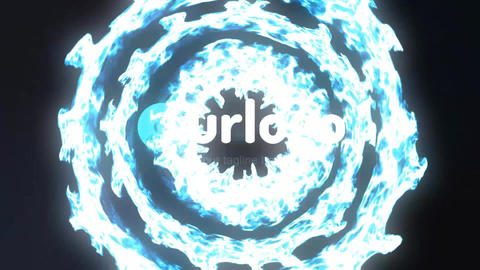 Simple Particles Logo Reveal After Effects Template