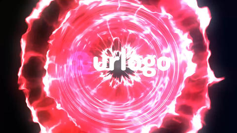 Space Particles Logo Reveal After Effects Template