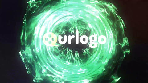 Pure Particles Logo Reveal After Effects Template