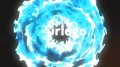 Fresh Particles Logo Reveal After Effects Template