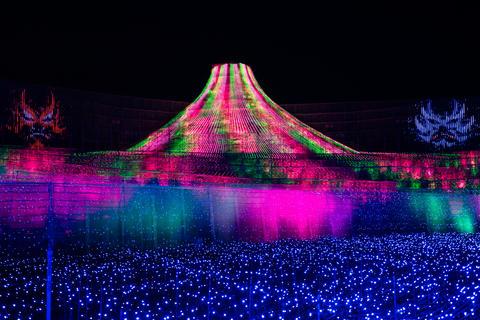 Nabana No Sato winter illumination in Mie, Japan Fotografía
