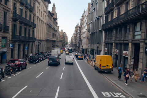 Walking the streets of Barcelona Photo