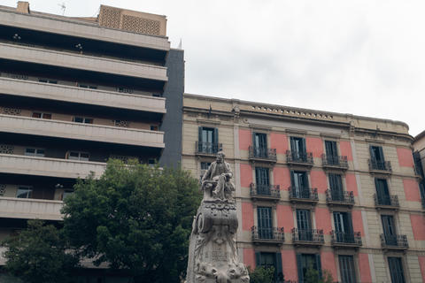 Monument to the playwright and poet of Catalonia Frederic Soler Photo